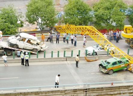 西安塔吊倒塌事故